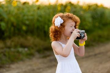 Сheerful photographer