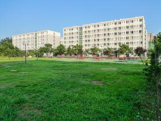 the campus in chengdu,china