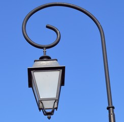 Lamppost in Southern France.