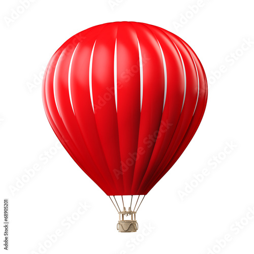 Leinwanddruck Bild Hot air balloon