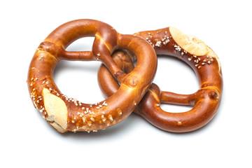 Bavarian pretzels