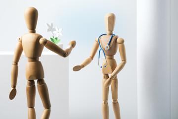 Arzt und Patient
