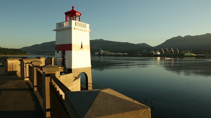 Brockton Point Lighthouse, Burrard Inlet