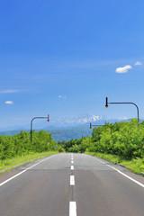 望岳台への道
