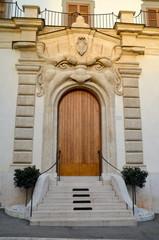 Monster door at Palazzo Zuccari in Rome