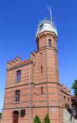 Lighthouse Ustka, Baltic coast, Poland