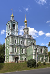 Martyr Nikita Orthodox Church. Vladimir, Golden ring of Russia.