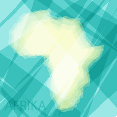abstract background with card konturmi africa