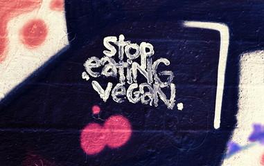 arretez de manger vegan