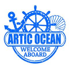 Artic Ocean stamp