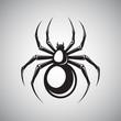 Black spider emblem - 68910454