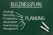 erfolgreicher Businessplan erfordert Planung