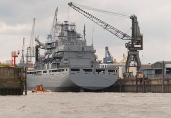 Versorgungsschiff der Deutschen Marine