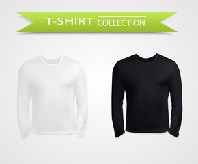 T-shirt with long sleeves set