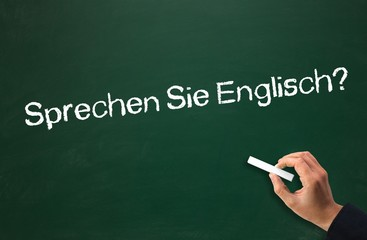 Sprechen SIe Englisch?
