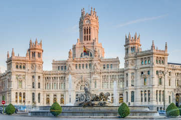 Cibeles Fountain at Madrid, Spain