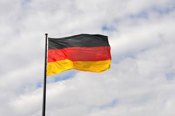 Flagge, Fahne, Deutschlandflagge, Nationalität, Deutschland