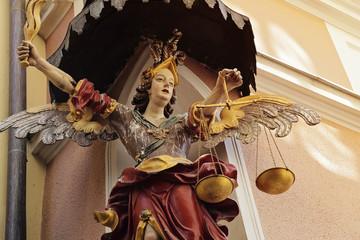Salzbourg (Autriche) archange saint-Michel