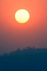 Sunset Colors Seasons Landscape