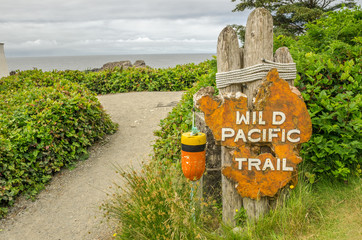 Sign at the Beginning of a Trail