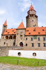 Castle Bouzov, Moravia, Czech Republic, Europe