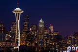 Fototapety Seattle Skyline at Night