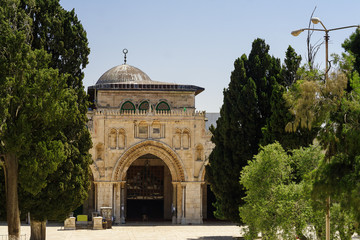 Al-Aqsa Mosque - third holiest place in Islam, Jerusalem