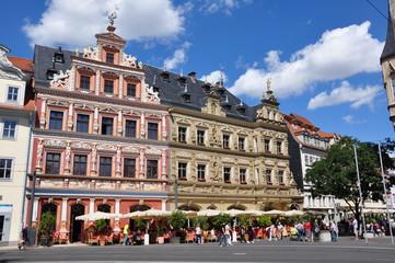 Erfurt - Häuser am Fischmarkt