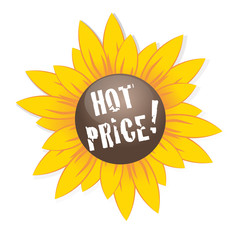 Hot Price Sunflower Button