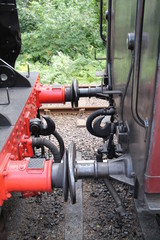 The Connections From a Steam Engine to a Carriage.