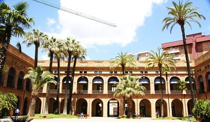Edificio Sede del districto de Nou Barris, Barcelona