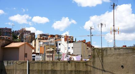 Antenas y tejados, Barcelona