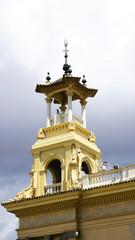 Pináculo del palacio de Alfonso XIII y Victoria Eugenia