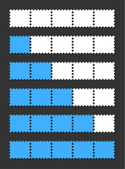 vector loading bar