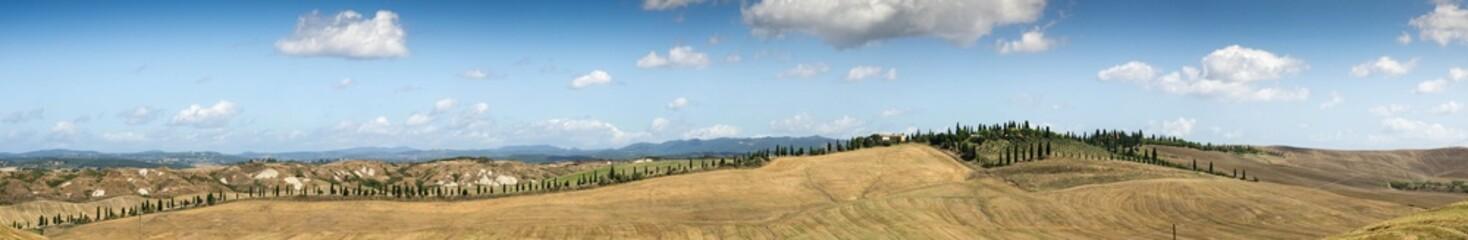 Panorama Toscane Crete Senesi