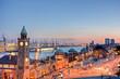 canvas print picture - Hamburg