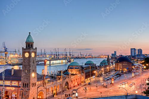 canvas print picture Hamburg