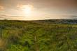 Sunset in Wales Field,Pennaly near Tenby