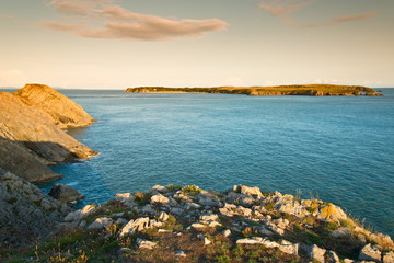 South Wales sea landscape