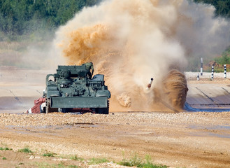 Tank passing fords