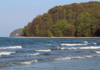 Küste an der Ostsee Insel Rügen