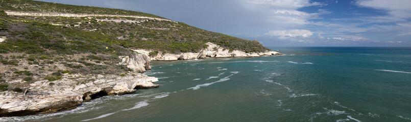 Gargano coast, Italy