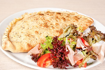 Meat calzone