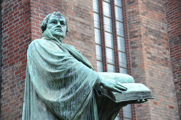 Lutherdenkmal, Martin Luther, Reformation, Marienkirche, Berlin