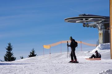 domaine skiable de saint pierre de chartreuse - isère