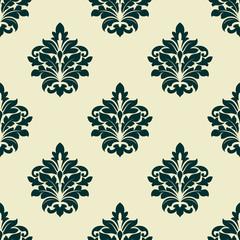 Floral seamless arabesque pattern