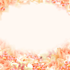 Soft Floral Background