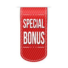 Special bonus banner design