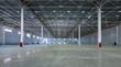 Leinwanddruck Bild - A big factory warehouse