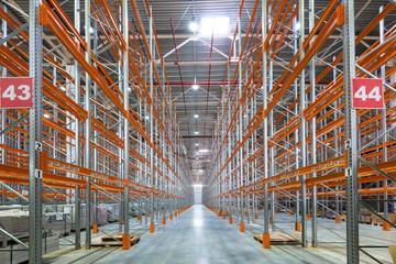 A big factory warehouse